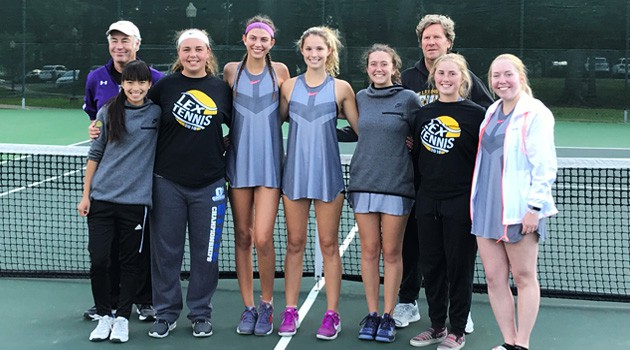 Girls' Tennis Team 2018 OCC Champions