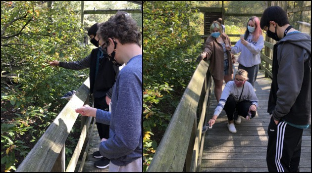 Bio Club Visits Ohio Bird Sanctuary