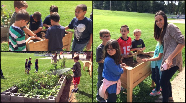 Third Grade Students Teach About Soil