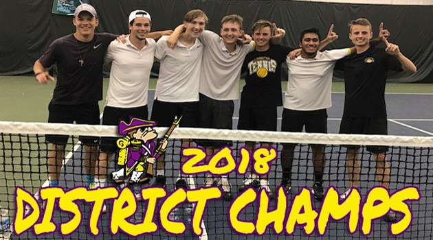 Varsity Boys Tennis Team Heading to State