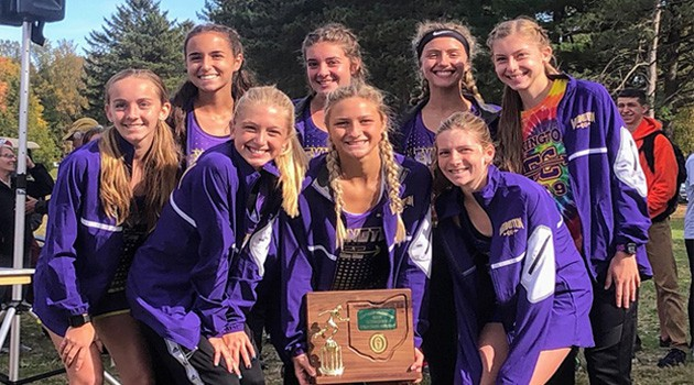 Girls Cross Country District Champions