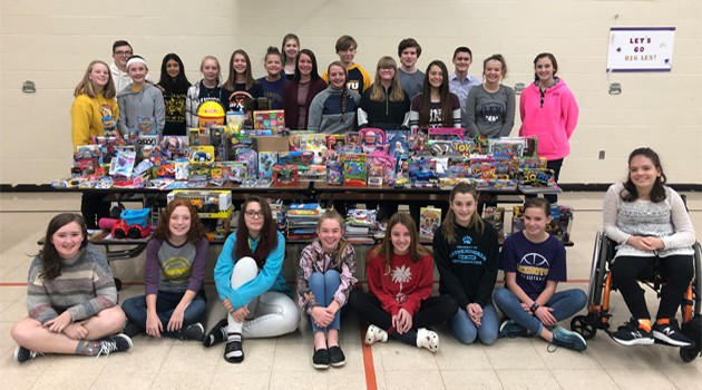 Junior High Toy Drive