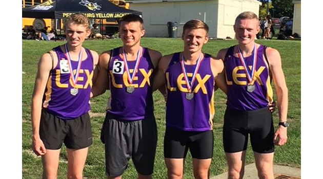 Boys Track 4x800 Relay Team Regional Runner-Ups