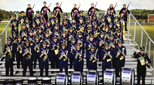 Lexington Band of Gold OMEA State Finals