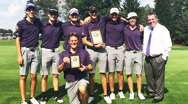 Boys' Varsity Golf Team 2018 OCC Champions
