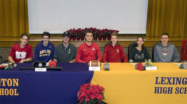 Minutemen Sign Letters of Intent