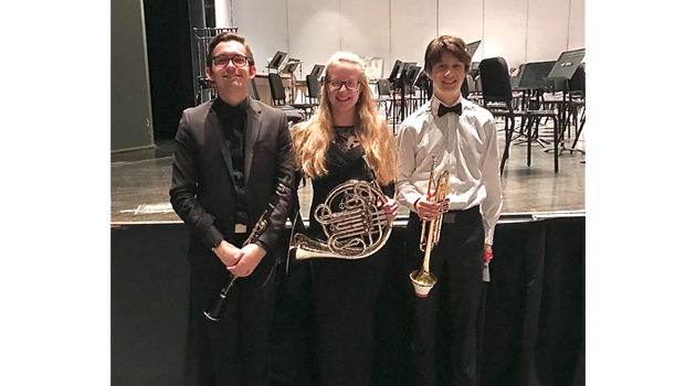 Students Chosen for Ohio State Honors Band