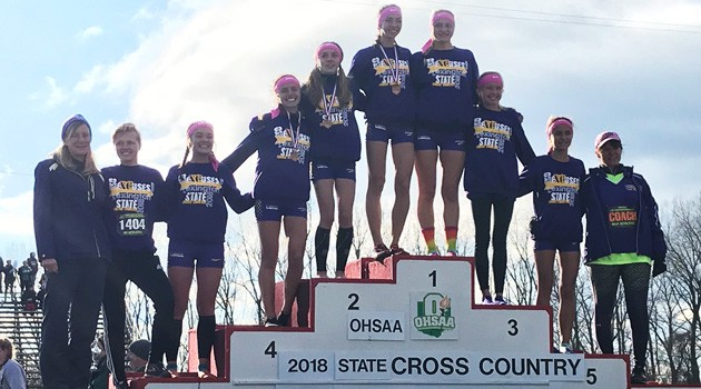 Girls' Cross Country Team - 2018 OHSAA Division II State Champions!