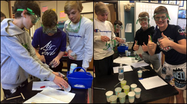 8th Grade Chemistry Experiments