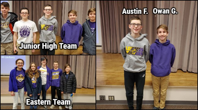 Eastern and Junior High MathCounts