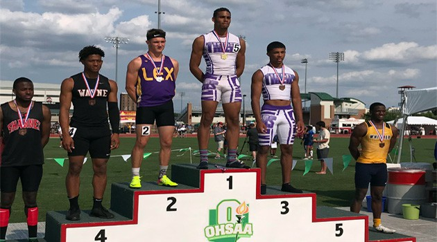 Alex G. State Runner-Up 100 & 200 Meter Races