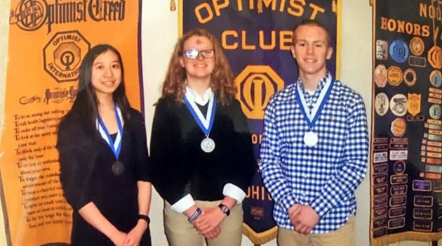Mansfield Noon Optimist Club Essay Contest