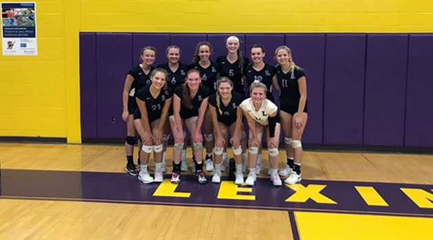 Girls Volleyball Team 2018 OCC Champions
