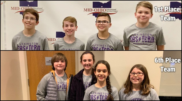 Eastern 6th Grade Academic Challenge Teams Compete at MOESC Competition