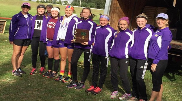 Varsity Girls Cross Country 2018 District Champions
