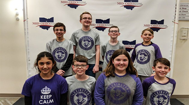 Eastern's 6th Grade Academic Challenge Teams
