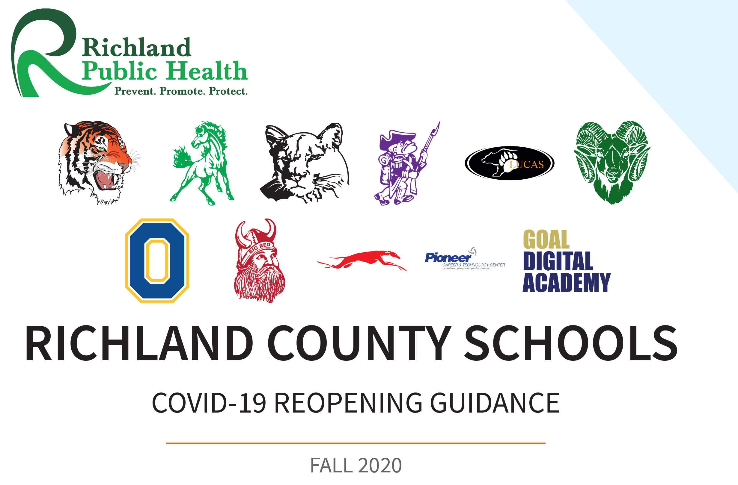 RC COVID 19 REOPENING GUIDANCE FALL 2020
