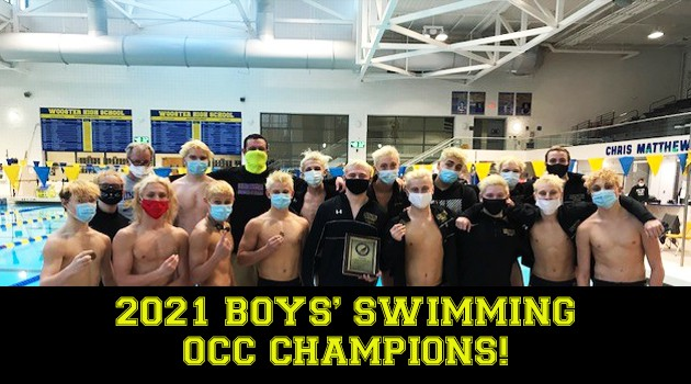 Boys Swimming 2021 OCC Champs