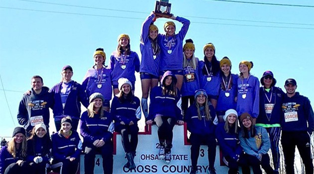 Girls Cross Country Team Wins State