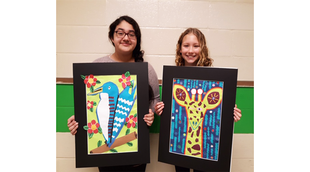 Eastern Students Artwork Selected for Art Exhibition
